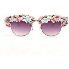 Floral on my glasses? Why freaking not?