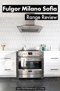 A quick review with thoughts and opinions from using the Sofia range for 6 months. A powerful and functional range that I love cooking on as much as I love looking at. #fulgormilano #fulgor #appliancereview Kitchen Dining, Cookware Storage, Kitchen Remodel Inspiration, Kitchen Reno, Kitchen Design, House Design Kitchen, Dining Design, Self Cleaning Ovens, Stoves Range