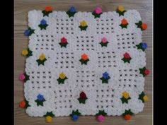 Çiçekli Lif Modeli - YouTube Youtube Tags, Baby Booties, Kids Rugs, Make It Yourself, Crochet, Granny Squares, Crochet Stitches, Crocheting Patterns, Tricot