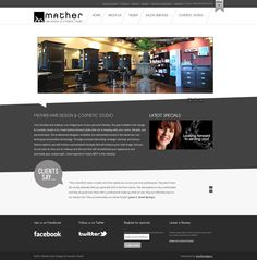 Mather Salon Website | http://mathersalon.com