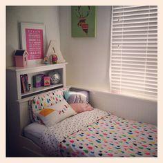 My daughter's bedroom #cottononkids linen #ikea #hensvik daybed via www.instagram.com/mintandfizz #mintandfizz