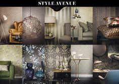 Our collection Style Avenue: 'New classic with a touch of chic'.   Onze collectie Style Avenue: 'Nieuw klassiek met een vleugje chique' Mooi te combineren met de stoffen lijn van www.lifestyle-interior.nl