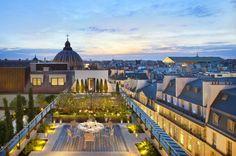 Paris Mandarin Suite Terrace
