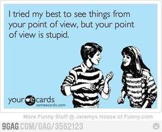 your e cards | Tumblr | Funny stuff | Pinterest | Punto di vista ...