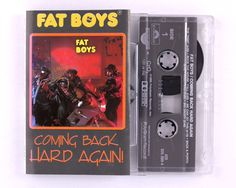 Fat Boys - Coming Back Hard Again Cassette Tape by JeepsterVintage on Etsy