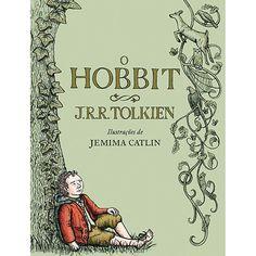 Livro - O Hobbit - Ilustrado  O hobbit Bilbo Bolseiro leva uma vida confortável e sem ambições, raramente aventurando-se para além de sua despensa e de sua adega. Mas sua tranquilidade é perturbada quando o mago Gandalf e uma companhia de treze anões batem à sua porta e o levam para uma expedição. Seu plano é roubar o tesouro guardado por Smaug, o Magnífico, um dragão imenso e muito perigoso...