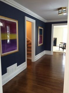 Benjamin Moore Newburyport Blue. Paint color man room ...