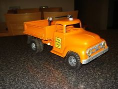 Vintage 1950s Tonka Hydraulic State HYW Dept Dump Truck | eBay