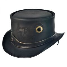 available at  VillageHatShop It has an Octopus on it! Leather Top Hat 521dee5cda0