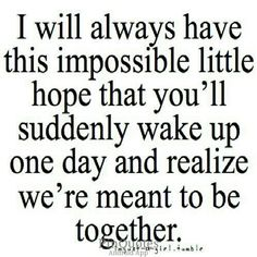 I always have that tiny hope. And if that day ever comes, I will be the happiest person on this planet! ❤️