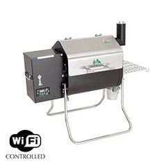 Green Mountain Grills Davy Crockett Tailgater Pellet Grill Bonus Package If you are looking for a great tailgating pellet grill, look no further! The Green Mountain Grills Davy Crockett WiFi Controlle Black Tees, Green Mountain Grills, Infrared Grills, Wood Pellet Grills, Davy Crockett, Portable Grill, Wood Pellets, Barbecue Grill, Bar Grill