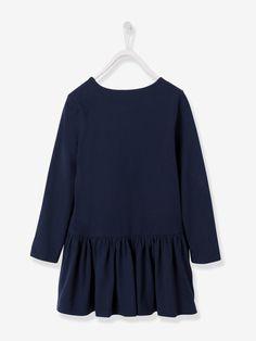 Vestido para menina em jersey - Vertbaudet