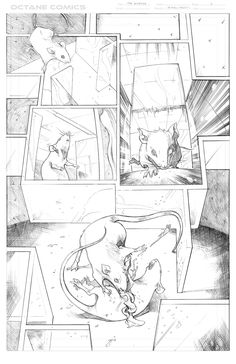The Disease - 1 - Pencil by me - Property of Octane Comics