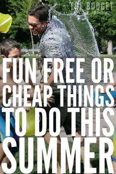 Looking for some fun free or cheap things to do this summer with your family? These are just a few of the ways that we get the most out of our summer time without breaking the bank!