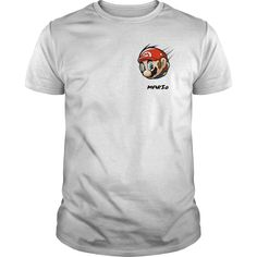 New Mario T SHIRT. Funny and Clever Gamer Quotes, Sayings, T-Shirts, Hoodies, Tees, Gifts, Clothing, Mugs.