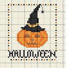 Grille gratuite Halloween - Les Chemins de Croix de Nathaliange