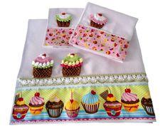 Copcakes de crochê - Por Mari Salvhestro - Artesanato na Rede
