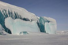 Frozen Wave, Antarctica
