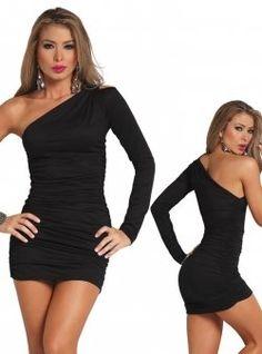 #dress #oneshoulderdress #squidoo