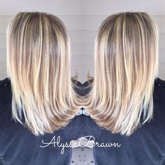 short hair, blonde balayage highlights, natural, ice queen, lowlights, straight hair, #cuttingloosect 2016 summer hair