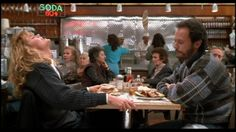 "When Harry Met Sally (1989)  ""I love that you get cold when it's 71 degrees out. I love that it takes you an hour and a half to order a sandwich. I love that you get a little crinkle above your nose when you're looking at me like I'm nuts. I love that after I spend the day with you, I can still smell your perfume on my clothes. And I love that you are the last person I want to talk to before I go to sleep at night..."""