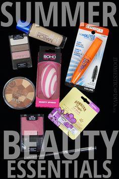 Summer Beauty Essentials from Walmart: Soft Summer Makeup Look (Video Tutorial)