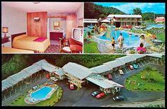 Virgil's Motel Gatlinburg 1960s