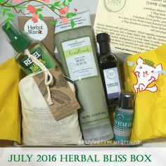 I did renew my Herbal Bliss subscription for another 6 months ~ and that is rare that I sub to a box on an extended period.  This is just a testament to how much I adore this subscription service. …