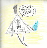 Crayon Bill by AnimePandaKawaii