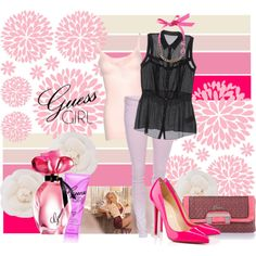 """Guess girl"" by zoenian on Polyvore"
