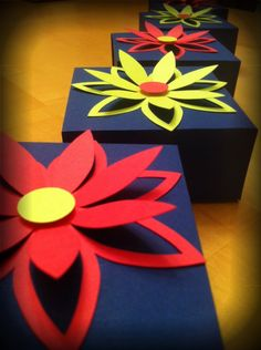 easy & fun favor boxes! #diy #favors