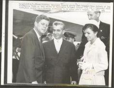 Shah, Farah and Kennedys 1962 State Visit to Washington.