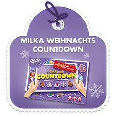 Milka Adventskalender Weihnachts-Countdown 200g