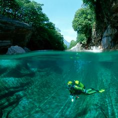 Verzasca River @ Swiss Alps