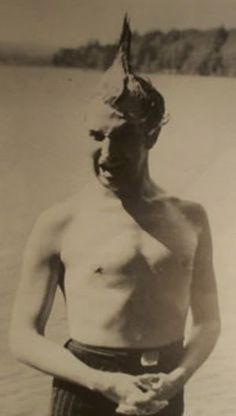 """""""Oh, look. It's Vincent Price shirtless with a mohawk. How about that!"""" - Cool!"""