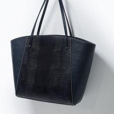 ZARA - SHOES & BAGS - COMBINED SHOPPER BAG