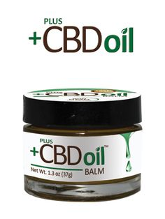 PlusCBD's CBD Balm to help with aches and pains. We all have them!
