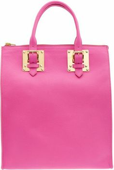 Sophie Hulme Pretty in Pink Pink Love, Pretty In Pink, Pink And Green, Hot Pink, My Bags, Purses And Bags, Everything Pink, Fashion Bags, Pink Fashion