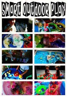 Outdoor play ideas http://graham-and-parker.blogspot.com/2012/04/smart-outdoor-play.html