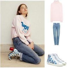 Mote for jenter på nett Sunday, Graphic Sweatshirt, Sweatshirts, Sweaters, Shopping, Fashion, Dress, Moda, Domingo