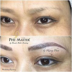 #Microblading #HuongPhan #phibrows #PhiMaster #augenbrauenpigmentierung #Greennails #glockengasse5 #regensburg #augenmakeup Microblading Eyebrows After Care, Beauty Art, Hair Beauty, Microblading Healing Process, Phi Brows, Permanent Makeup, Makeup Goals, All Things Beauty, Eyeliner