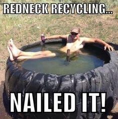 Redneck DIY Swimming Pools