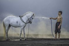 Photograph Taking Bath by Sugianto Suparman on 500px