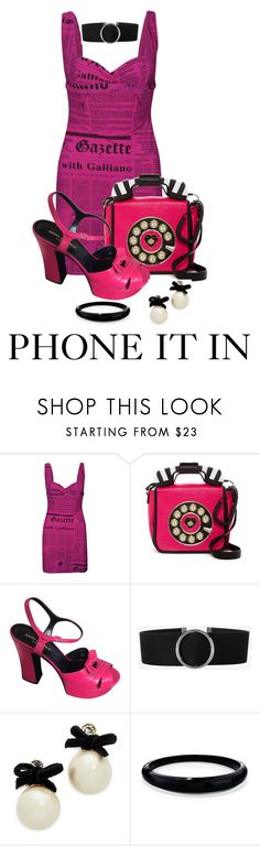 """""""My 1st News Story"""" by shamrockclover ❤ liked on Polyvore featuring John Galliano, Betsey Johnson, Yves Saint Laurent, Express, Kate Spade and Alexis Bittar"""