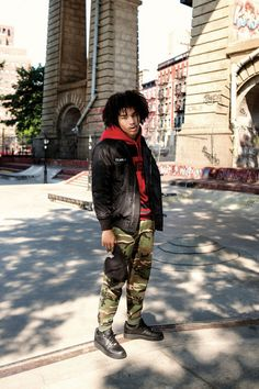 Fingercroxx. Featuring Luka Sabbat. The Trotteur is curated by @TheRealPJSmith. menswear mnswr mens style mens fashion fashion style campaign lookbook fingercroxx lukasabb