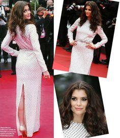 Poá..Aline Moraes em Cannes!