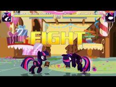 New Mugen MAD - Nightmare Twilight Sparkle vs Nightmare Sparkle