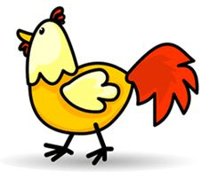 Cartoon Chicken | cartoon_chicken_st5.gif