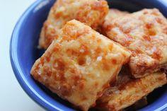 homemade cheese cracker