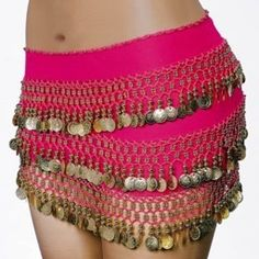 Private Island Party  - Hot Pink Bellydance Gypsy Scarf 2060, $4.25- $7.99   Unleash your inner belly dancer with our glamorous hot pink scarf.